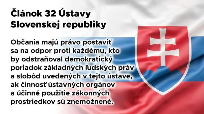 Článok 32 Ústavy Slovenskej republiky