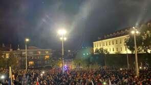 17. november- protest proti vláde Igora Matoviča